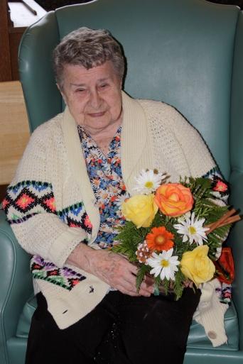 Oma Birthday, 2012
