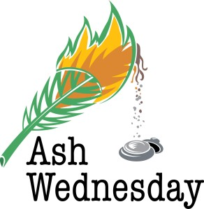 Tradition to save the Palms used in Palm Sunday the previous year and burn them to make the ashes for Ash Wednesday the following year.