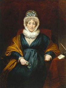 Painting of Hannah Moore by H.W. Pickersgill