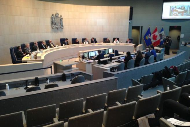 City of Edmonton City Council Chambers