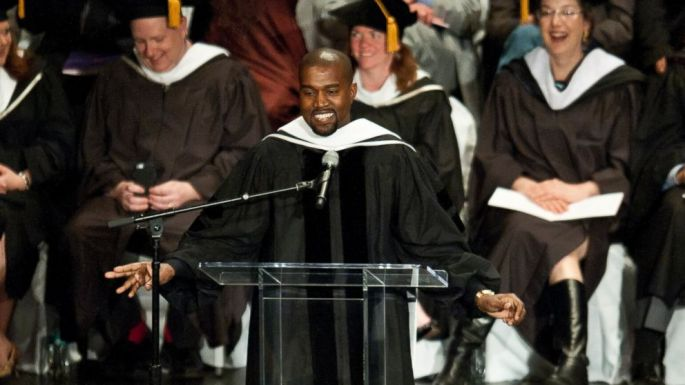 Kanye West receives Honorary Doctorate from Chicago School of the Arts