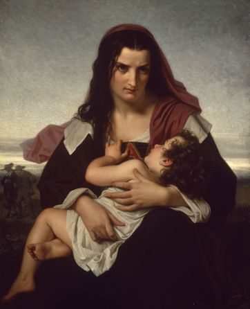 The Scarlet Letter by Hugues Merle,