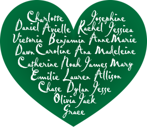 Names of the Sandy Hook Elementary Massacre