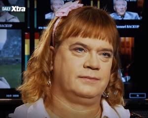 Stefonknee Wolschtt, 46, is a transgender woman who lives as a six-year-old girl YouTube, Daily Xtra