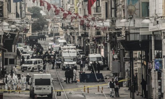 Taksim Area bombing