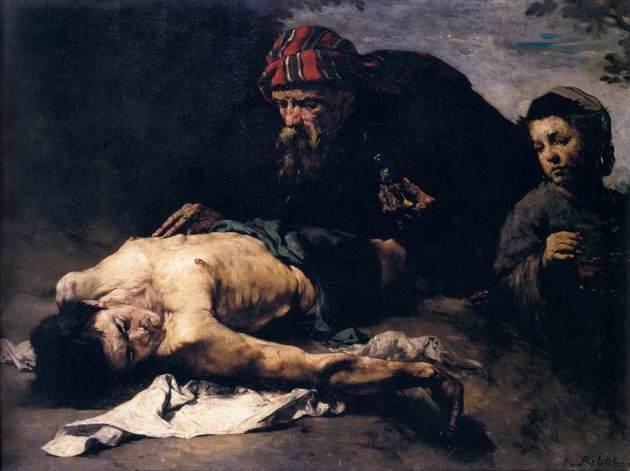 The Good Samaritan, by Theoldule Augustin Ribot